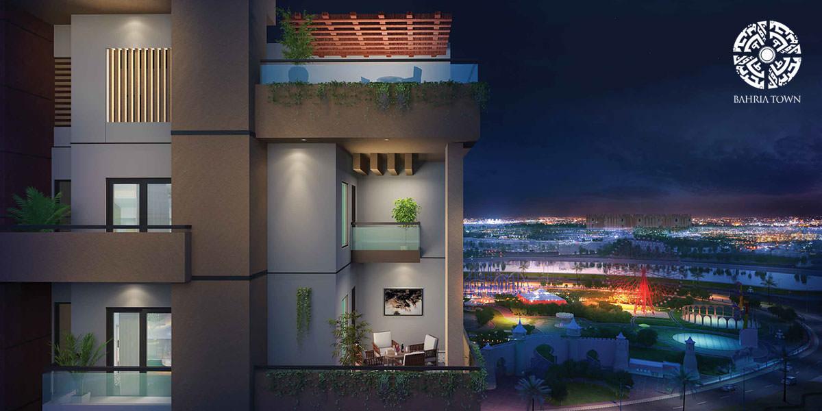 indus empire balcony view